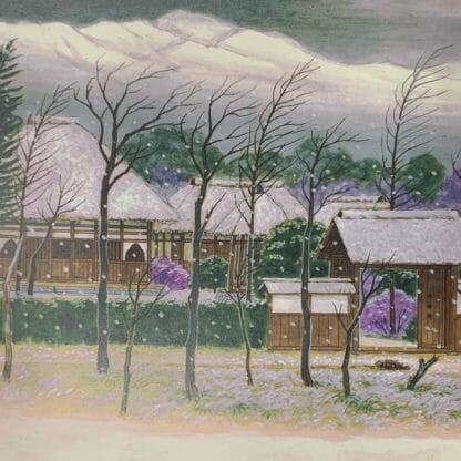 寳林寺旧境内絵図