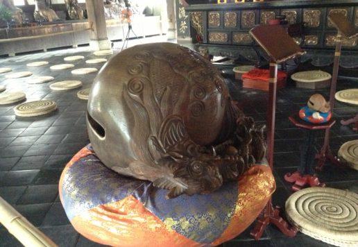 黄檗山萬福寺木魚
