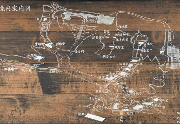 神勝寺境内図