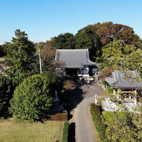 宝林寺本堂DRONE