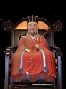 宝林寺中興開山 潮音道海禅師像