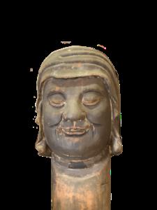 宝林寺達磨大師像