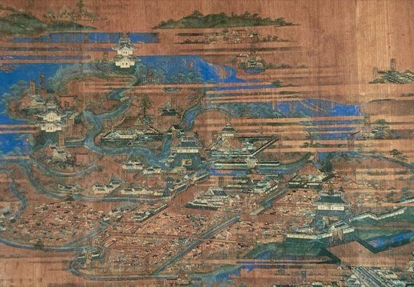 館林城絵馬|尾曳稲荷神社
