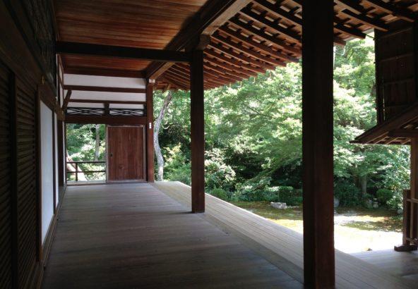 縁側 お寺