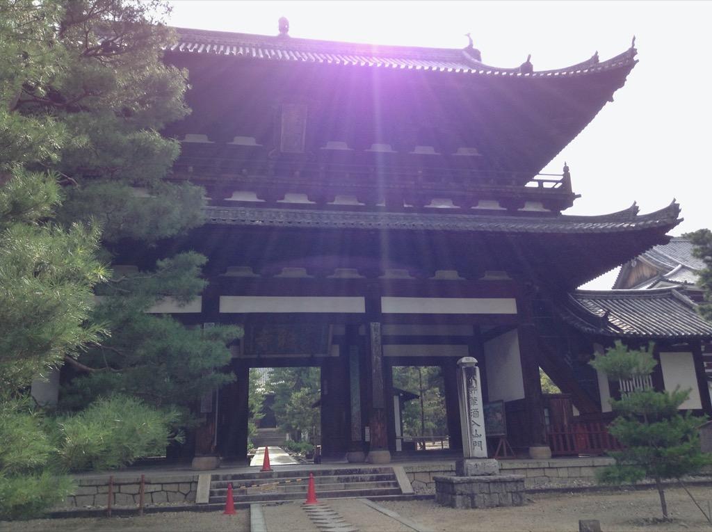黄檗山萬福寺三門